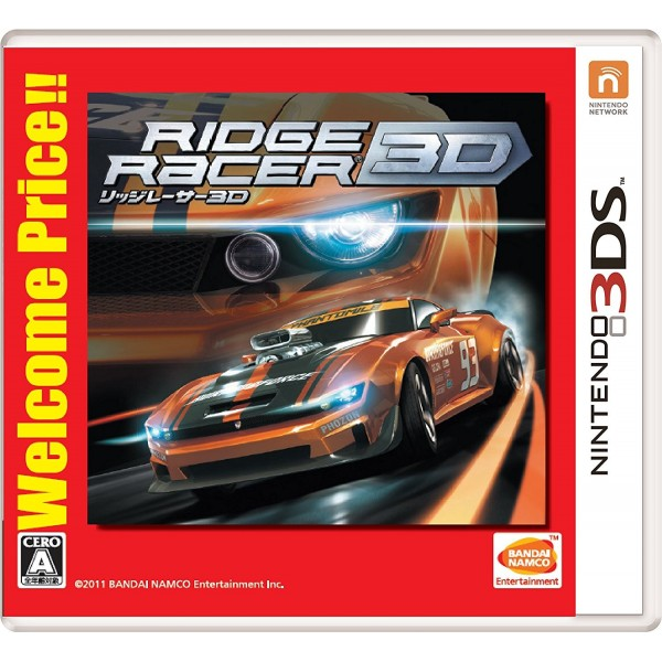 RIDGE RACER 3D (WELCOME PRICE!!)
