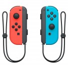 NINTENDO SWITCH JOY-CON CONTROLLERS (NEON BLUE / NEON RED)