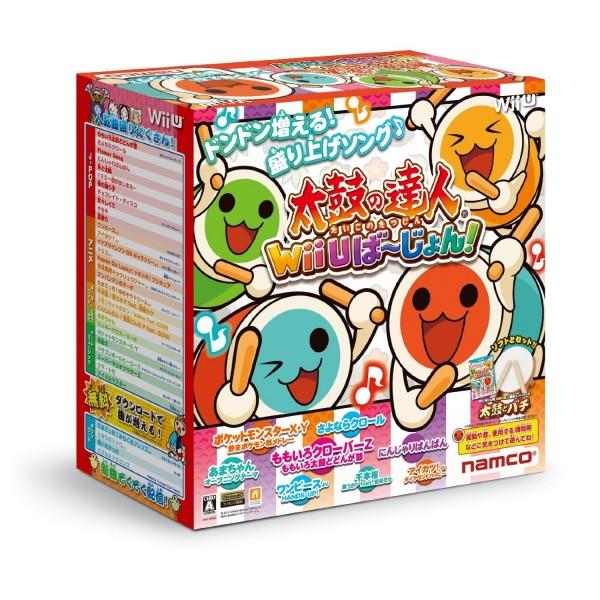 Taiko no Tatsujin: Wii U Version [Bundle Set with Taiko & Bachi]