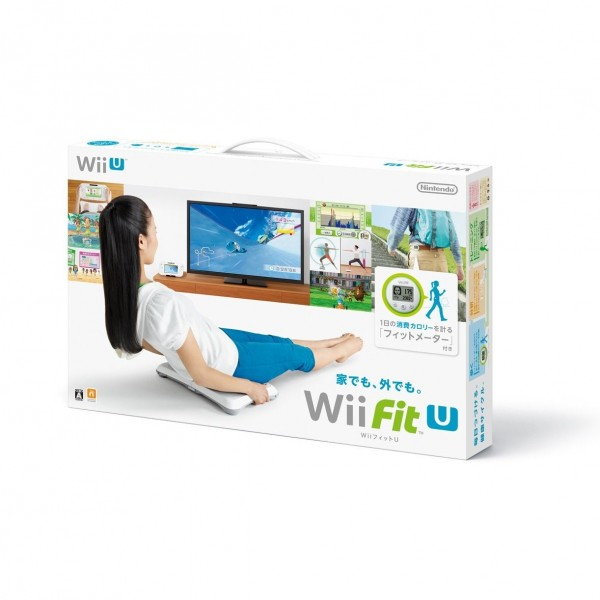 Wii Fit U Wii Balance Board + Fit Meter Set (White & Green)