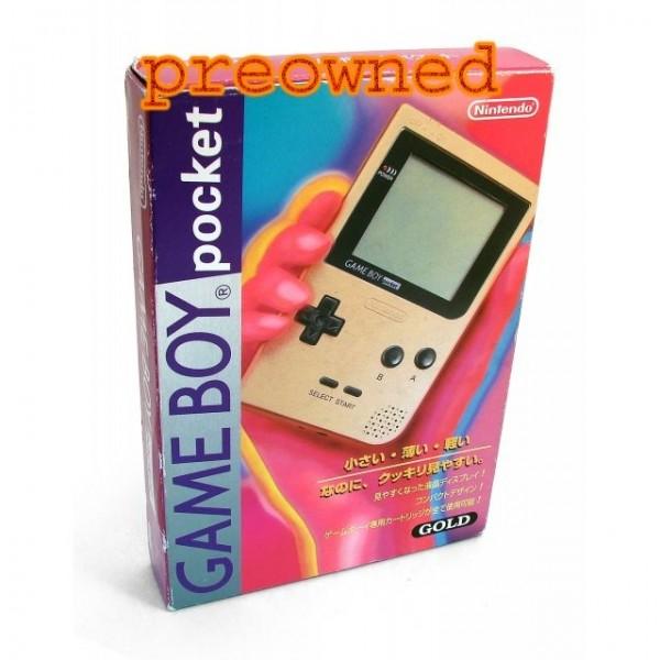Game Boy Pocket Gold