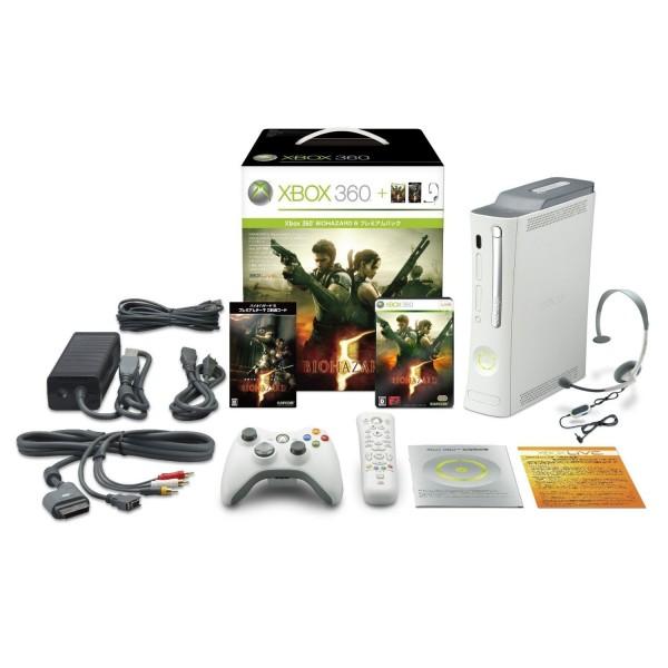 XBOX 360 BIOHAZARD 5 [PREMIUM PACK] -NEU-