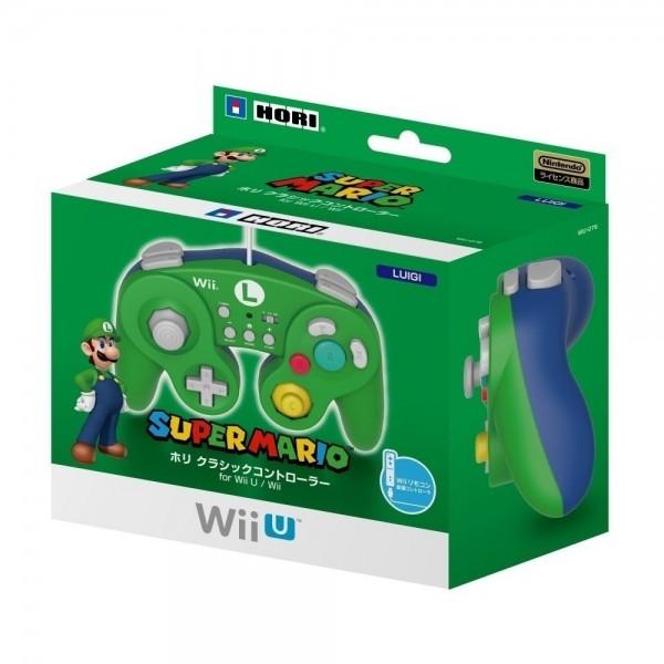 CLASSIC CONTROLLER FOR WII U (LUIGI) für Wii & Wii U Hori