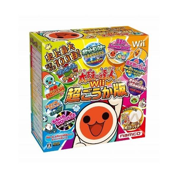 Taiko no Tatsujin Wii: Chou Gouka Han [Bundle Set]