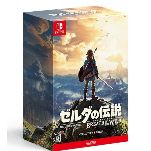 THE LEGEND OF ZELDA: BREATH OF THE WILD [COLLECTOR'S EDITION]