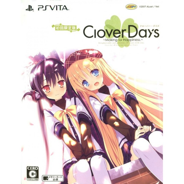 CLOVER DAY'S [LIMITED EDITION]