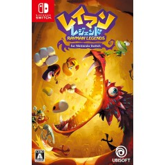 RAYMAN LEGENDS FOR NINTENDO SWITCH