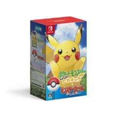 POCKET MONSTERS LET'S GO! PIKACHU + MONSTER BALL PLUS PACK
