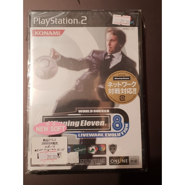 Winning Eleven 8 Liveware Evolution with book
