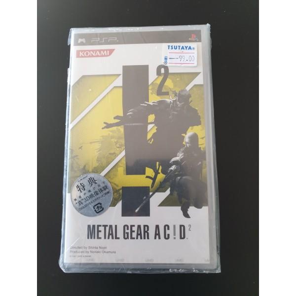 "Metal Gear Acid 2 with bonus ""Solid Eye"""