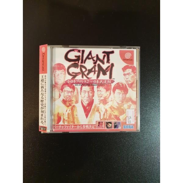 Giant Gram: All Japan ProWrestling 2 (gebraucht)