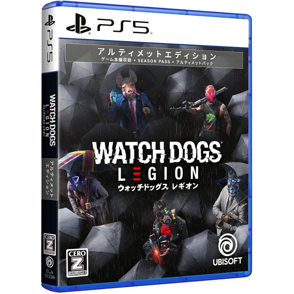 WATCH DOGS LEGION [ULTIMATE EDITION]