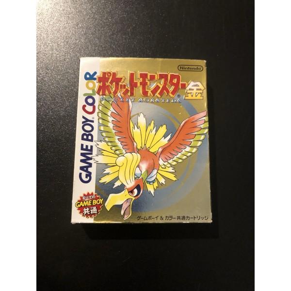 Pocket Monsters Kin (Gold) Game Boy Color GBC