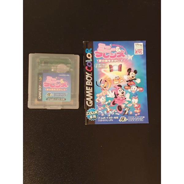 Minnie & Friends: Yume no Kuni o Sagashite Game Box Color GBC