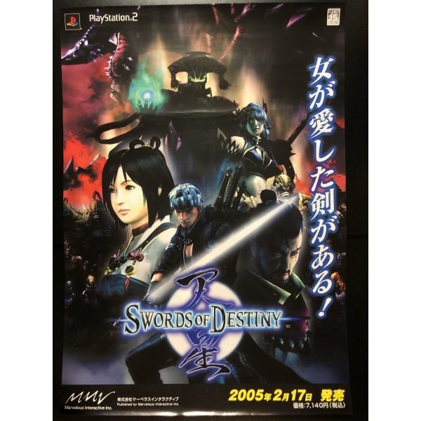 Swords of Destiny PS2 Videogame Promo Poster