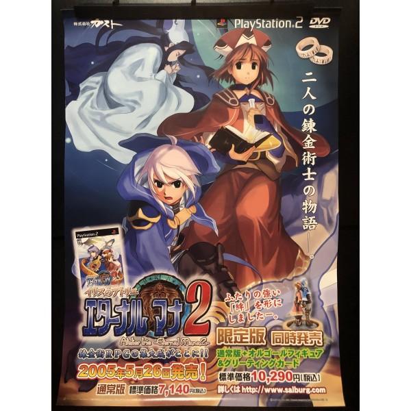 Atelier Iris: Eternal Mana 2 PS2 Videogame Promo Poster