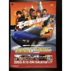 Critical Velocity PS2 Videogame Promo Poster