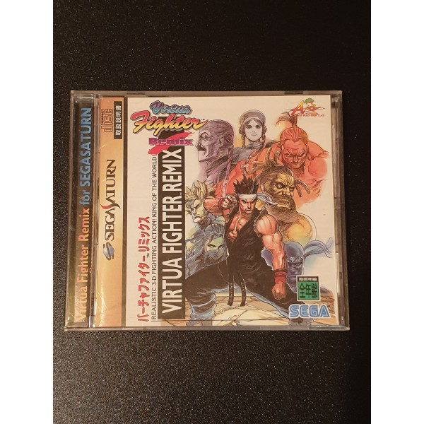 Virtua Fighter Remix (pre-owned) SEGA SATURN
