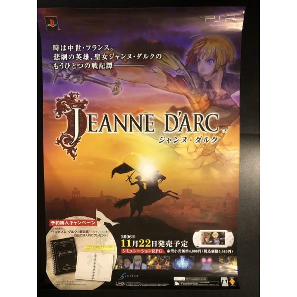 Jeanne D'Arc PSP Videogame Promo Poster