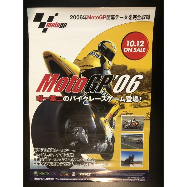 MotoGP '06 XBOX 360 Videogame Promo Poster