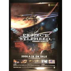 Project Sylpheed XBOX 360 Videogame Promo Poster