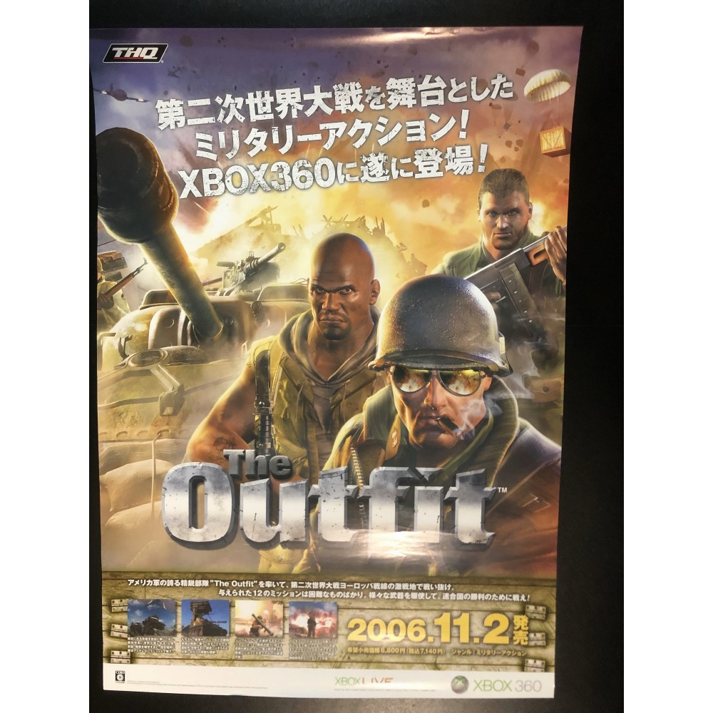 The Outfit XBOX 360 Videogame Promo Poster