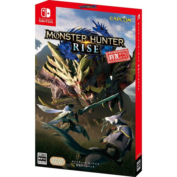 Monster Hunter Rise [Hunting Friend Double Pack] (Multi-Language) Switch