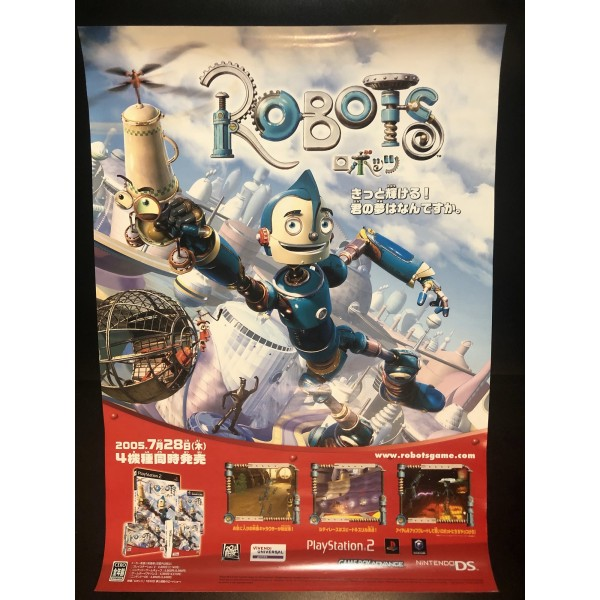 Robots DS Videogame Promo Poster