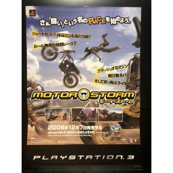 MotorStorm PS3 Videogame Promo Poster