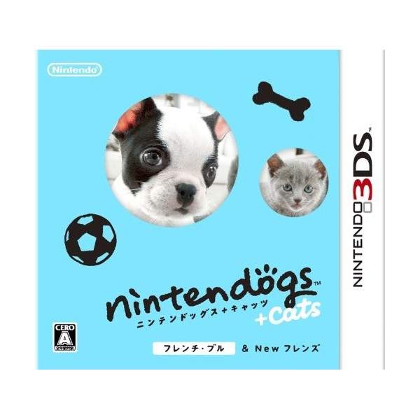 Nintendogs + Cats: French Bulldog & New Friends (pre-owned)