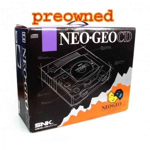 NEOGEO CD TOP LOADER CONSOLE