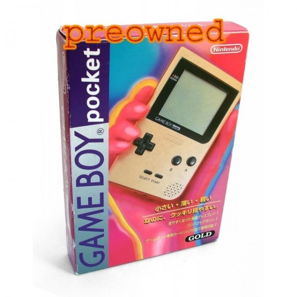 Game Boy Pocket Gold