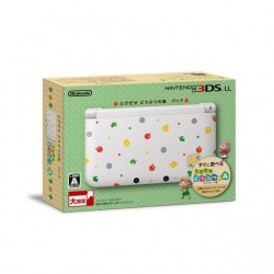 NINTENDO 3DS LL (DOUBUTSU NO MORI PACK LIMITED EDITION) pre-owned