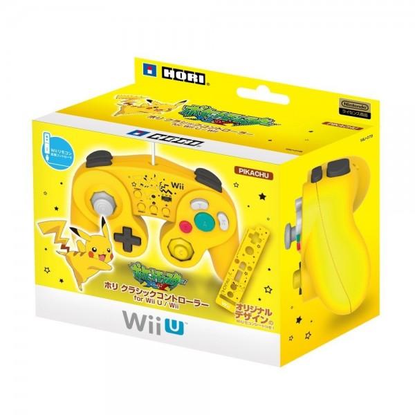 CLASSIC CONTROLLER FOR WII U (PIKACHU) für Wii & Wii U Hori