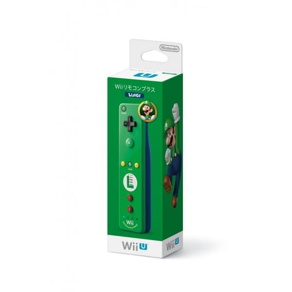 WII REMOTE CONTROL PLUS (LUIGI) für Wii & Wii U