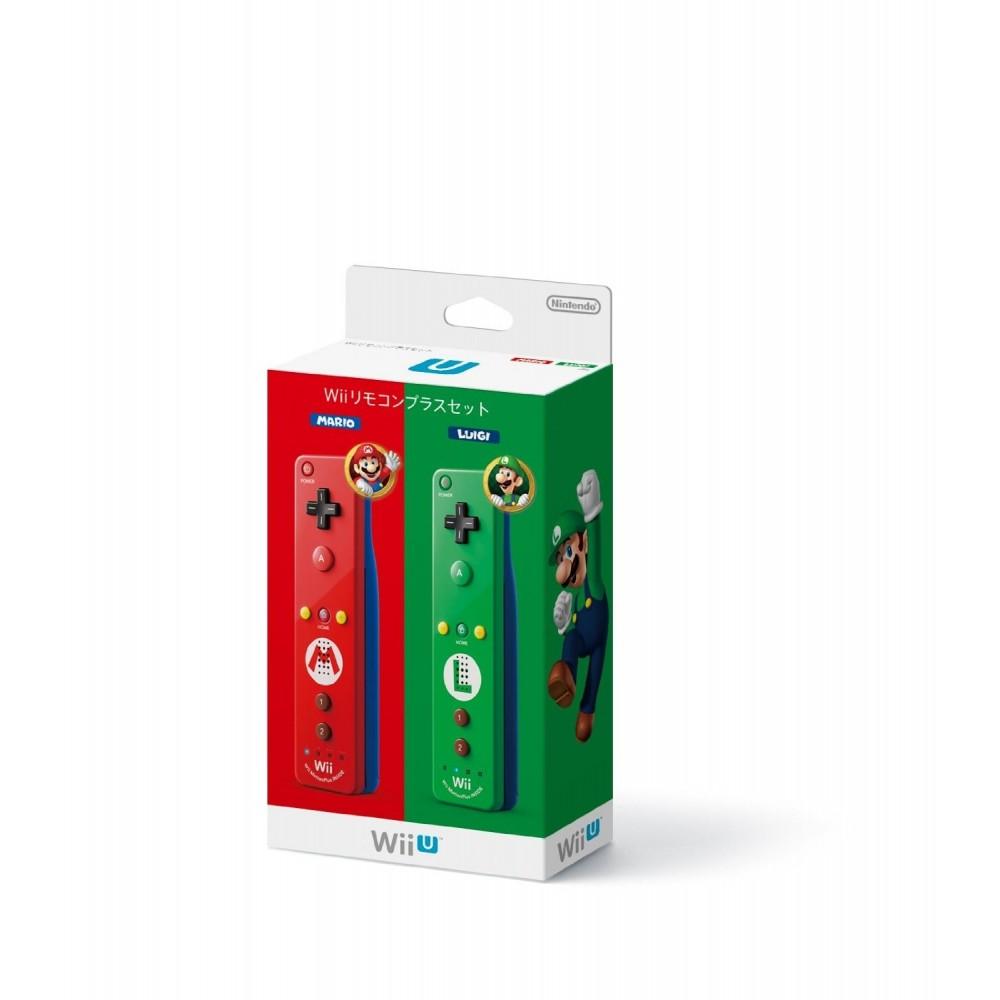 WII REMOTE CONTROL PLUS SET (MARIO+LUIGI) für Wii & Wii U