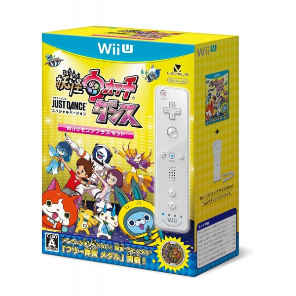 YOUKAI WATCH DANCE: JUST DANCE SPECIAL VERSION [WII REMOTE PLUS CONTROL SET]
