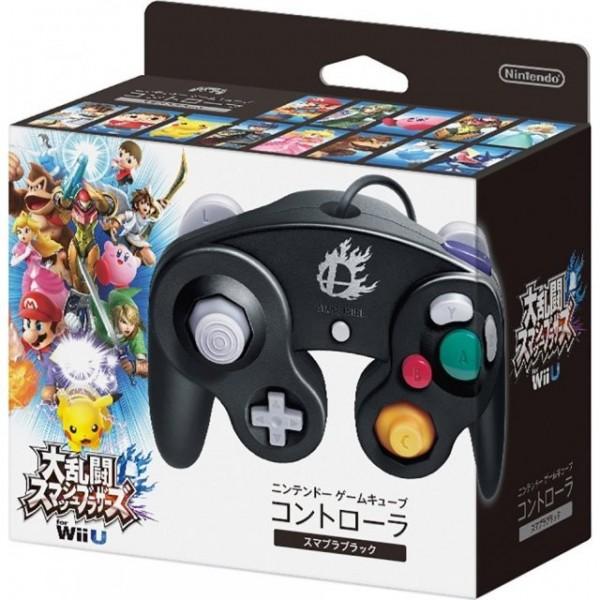 GAMECUBE CONTROLLER für Wii & Wii U (SUPER SMASH BROS. BLACK)